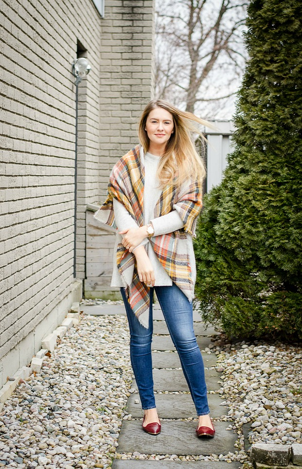 How To Wear A Blanket Scarf 5 Ways